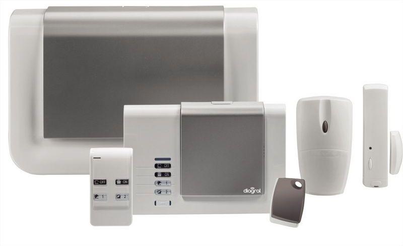 Protéger sa maison avec une alarme sans fil Diagral